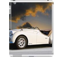 Triumph 'Supercharged' TR3A iPad Case/Skin