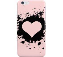 Template heart iPhone Case/Skin