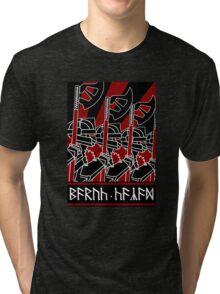 Dwarven Constructivist Poster - Baruk Kazâd! Tri-blend T-Shirt