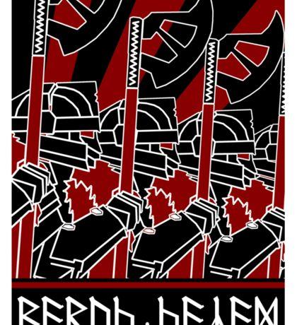 Dwarven Constructivist Poster - Baruk Kazâd! Sticker