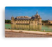 Chateau de Chantilly 2 Canvas Print