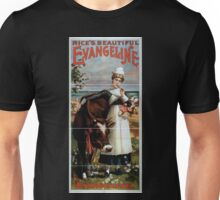 Performing Arts Posters Rices beautiful Evangeline 0993 Unisex T-Shirt