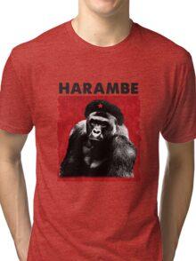Harambe x Che Guevara Tri-blend T-Shirt