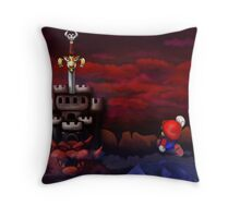 Super Mario RPG Bowser's Castle Throw Pillow