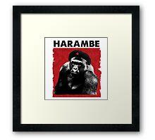 Harambe x Che Guevara Framed Print