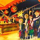NYE - a time to celebrate - Yamba NSW Australia by Margaret Morgan (Watkins)