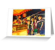 NYE - a time to celebrate - Yamba NSW Australia Greeting Card