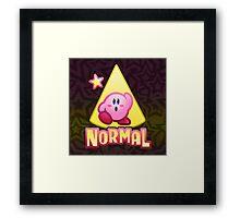 Kirby Normal Framed Print