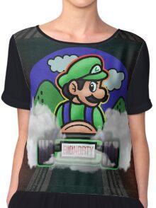 Death Stare Luigi 1992 Chiffon Top