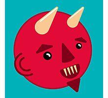 Smiley Demon Photographic Print