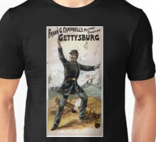 Performing Arts Posters Frank G Campbells military creation Gettysburg 1914 Unisex T-Shirt