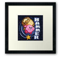 Kirby Hammer Framed Print
