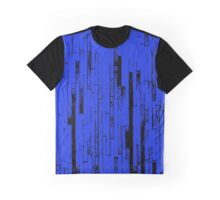Line Art - The Bricks, black and blue Graphic T-Shirt