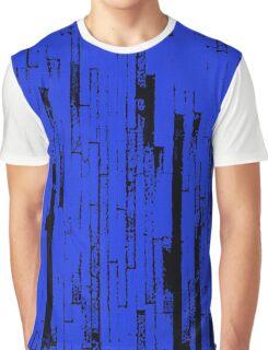 Line Art - The Bricks, black and blue Graphic T-Shirt