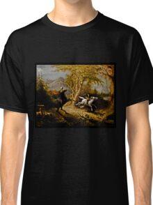 Headless Horseman Chasing Ichabod Crane Classic T-Shirt
