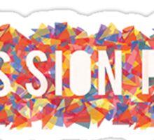 passion pit Sticker