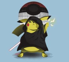 Join The Dark Side With Darth Pika Baby Tee