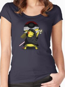 Join The Dark Side With Darth Pika Women's Fitted Scoop T-Shirt