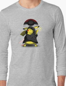 Join The Dark Side With Darth Pika Long Sleeve T-Shirt