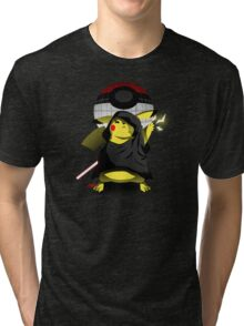 Join The Dark Side With Darth Pika Tri-blend T-Shirt