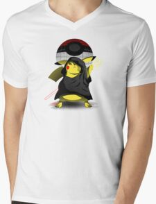 Join The Dark Side With Darth Pika Mens V-Neck T-Shirt