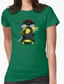 Join The Dark Side With Darth Pika Womens Fitted T-Shirt