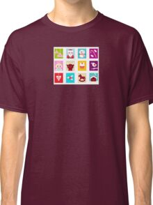 Advent Calendar. Christmas Time. Various cartoon christmas icons and elements. Classic T-Shirt