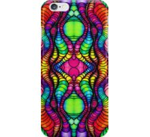 Colorful Tube Worms in Symmetry iPhone Case/Skin