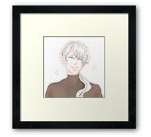 Hyun Ryu (zen) mystic messenger  Framed Print