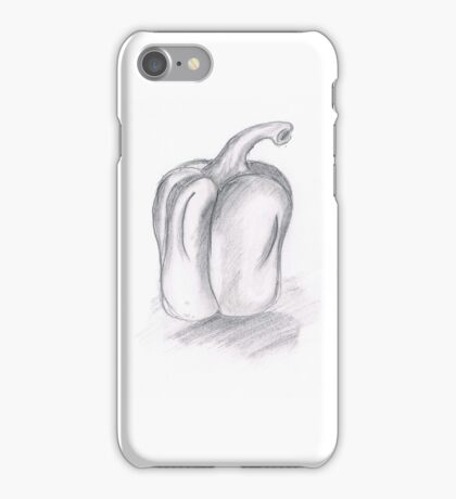 Pencil Pepper  iPhone Case/Skin