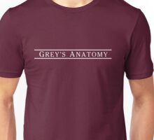 GREY'S ANATOMY LOGO Unisex T-Shirt