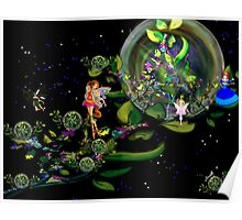 Fairy and Tree world Poster