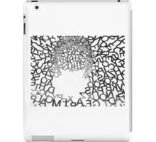 Letters in the Sky iPad Case/Skin