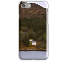 Lone Cabin in The Mountains iPhone Case/Skin