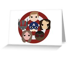 Team Cap Noggins Greeting Card
