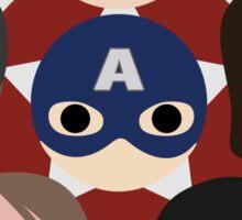 Team Cap Noggins Sticker