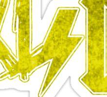 Axl/DC Yellow Logo Modern Sticker