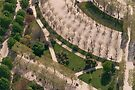 View from above - Champs de Mars by Morag Anderson