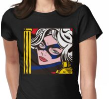 Girl Power 1 Womens Fitted T-Shirt