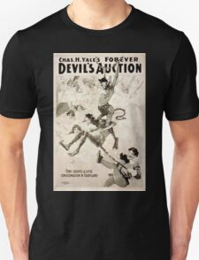 Performing Arts Posters Chas H Yales forever Devils auction 1067 Unisex T-Shirt