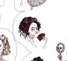 Vanessa & Lily Pattern Sticker