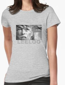 Milla Jovovich as Leeloo from The Fifth Element Womens Fitted T-Shirt