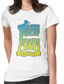 Les Vacances De Monsieur Hulot Jacques Tati Womens Fitted T-Shirt