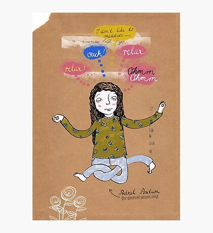 ooomm und relax Photographic Print