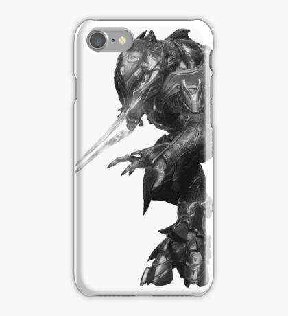 Halo Elite (BW) iPhone Case/Skin