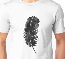 Black Feather Unisex T-Shirt