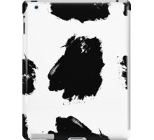 Hand drawn ink brush strokes. iPad Case/Skin