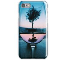 Wine Glass at Sunset iPhone Case/Skin