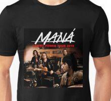 tshirt music poster mana latino power tour 2016 Unisex T-Shirt