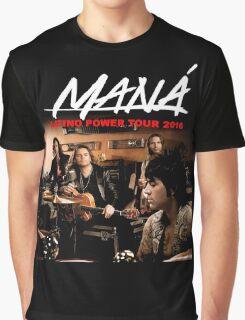 tshirt music poster mana latino power tour 2016 Graphic T-Shirt